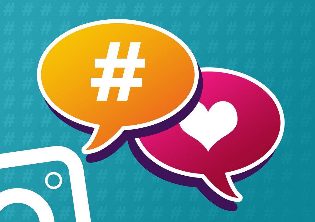 Uso de hashtags para Instagram